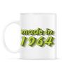 PRINTFASHION made-in-1964-green-grey - Bögre - Fehér