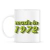 PRINTFASHION made-in-1972-green-grey - Bögre - Fehér
