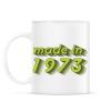 PRINTFASHION made-in-1973-green-grey - Bögre - Fehér