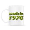 PRINTFASHION made-in-1975-green-grey - Bögre - Fehér