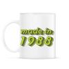 PRINTFASHION made-in-1988-green-grey - Bögre - Fehér