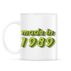 PRINTFASHION made-in-1989-green-grey - Bögre - Fehér