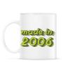 PRINTFASHION made-in-2006-green-grey - Bögre - Fehér