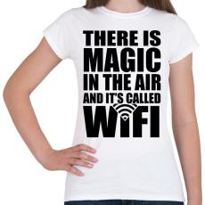 PRINTFASHION Magic WiFi - Női póló - Fehér