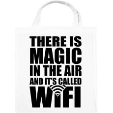 PRINTFASHION Magic WiFi - Vászontáska - Fehér