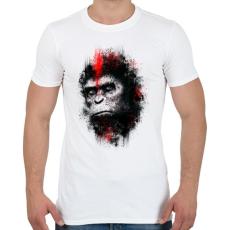 PRINTFASHION Majmok bolygója - Férfi póló - Fehér
