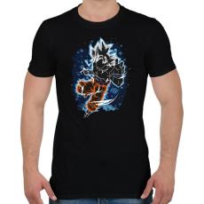PRINTFASHION Mastered Goku - Férfi póló - Fekete