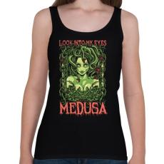 PRINTFASHION Medusa - Női atléta - Fekete