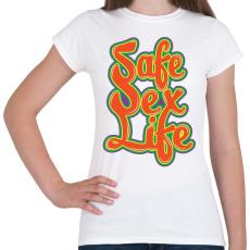 PRINTFASHION Mentsd meg a szexuális életed!  - Női póló - Fehér