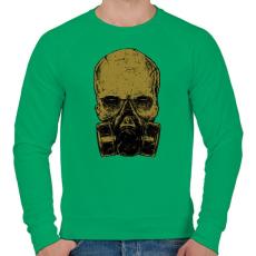 PRINTFASHION Méreg - Férfi pulóver - Zöld