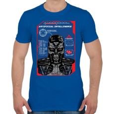 PRINTFASHION Mesterséges intelligencia - Férfi póló - Királykék