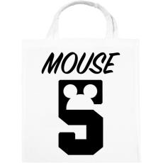 PRINTFASHION Mouse 5 - Vászontáska - Fehér