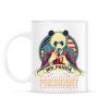 PRINTFASHION Mr. Panda - Bögre - Fehér