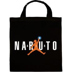 PRINTFASHION Naruto Air - Vászontáska - Fekete