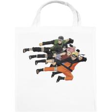 PRINTFASHION Naruto Shippuden Team - Vászontáska - Fehér