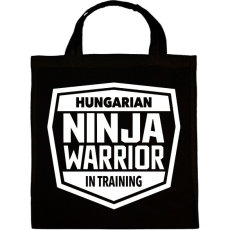 PRINTFASHION Ninja Warrior - Vászontáska - Fekete