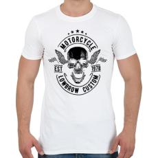 PRINTFASHION Nyárspolgár - Férfi póló - Fehér