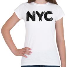 PRINTFASHION NYC - Női póló - Fehér