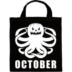 PRINTFASHION Október - Vászontáska - Fekete
