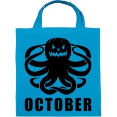 PRINTFASHION Október - Vászontáska - Kék