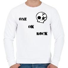 PRINTFASHION One Ok Rock - Férfi pulóver - Fehér