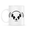 PRINTFASHION Panda beat - Bögre - Fehér