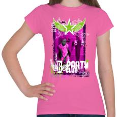 PRINTFASHION PARTY CLUB - Női póló - Rózsaszín