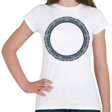 PRINTFASHION Pegazusi kapu - Női póló - Fehér
