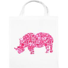 PRINTFASHION Pink orrszarvú - Vászontáska - Fehér