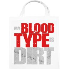 PRINTFASHION Piszkos Vércsoport - Vászontáska - Fehér