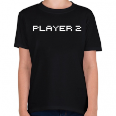 PRINTFASHION PLAYER 2 - Gyerek póló - Fekete