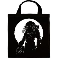 PRINTFASHION Predator - Vászontáska - Fekete
