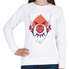 PRINTFASHION Princess Mononoke - Női pulóver - Fehér