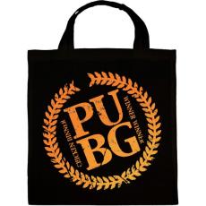 PRINTFASHION PUBG LOGO - Vászontáska - Fekete