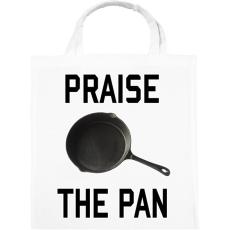 PRINTFASHION PUBG - Praise the Pan - Vászontáska - Fehér