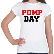 PRINTFASHION PUMP DAY - Női póló - Fehér
