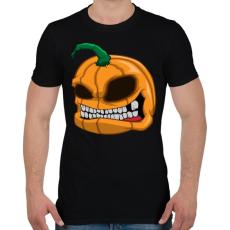 PRINTFASHION Pumpkin - Férfi póló - Fekete
