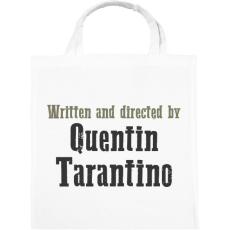 PRINTFASHION Quentin Tarantino - Vászontáska - Fehér