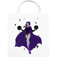 PRINTFASHION Raven - Tenn Titan - Vászontáska - Fehér
