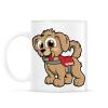 PRINTFASHION Rescue Puppy - Bögre - Fehér