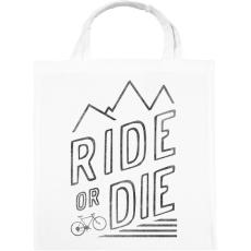 PRINTFASHION Ride or Die - Vászontáska - Fehér
