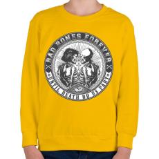PRINTFASHION Rosszcsontok mindörökké - Gyerek pulóver - Sárga