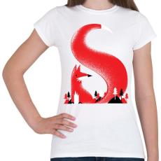 PRINTFASHION S like fox - Női póló - Fehér