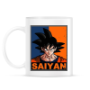 PRINTFASHION Saiyan Goku - Bögre - Fehér