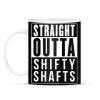 PRINTFASHION SHIFTY SHAFTS - Bögre - Fekete