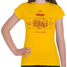 PRINTFASHION since-1941-red-black - Női póló - Sárga