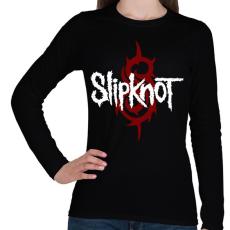 PRINTFASHION Slipknot - Női hosszú ujjú póló - Fekete