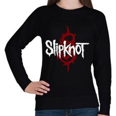 PRINTFASHION Slipknot - Női pulóver - Fekete