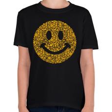PRINTFASHION Smile - Gyerek póló - Fekete