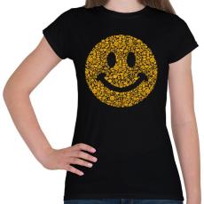 PRINTFASHION Smile - Női póló - Fekete